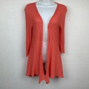 Nic and Zoe Cardigan Duster Small Petite A22